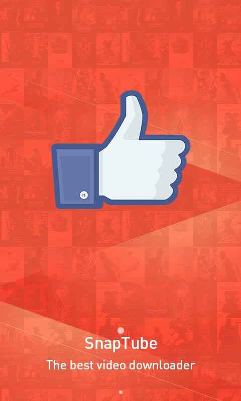 Get a lot of likes on SnapTube Facebook page